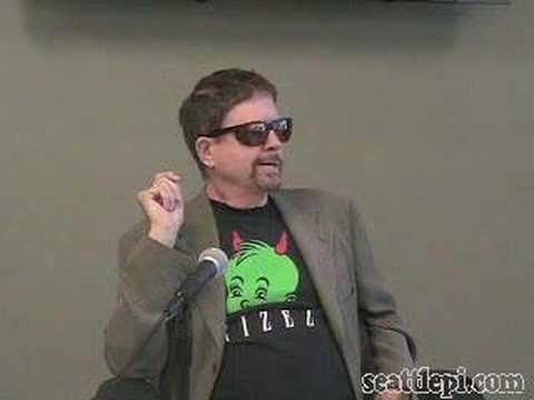 Tom Robbins at the Seattle P-I