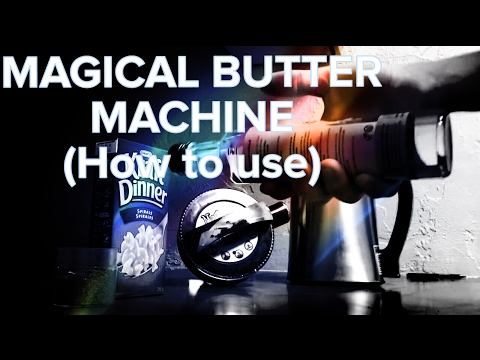 Magical Butter Machine (Coconut Oil) – Tutorial