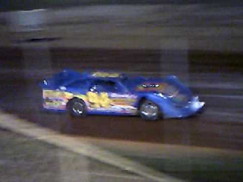 Wendell Chavous Qualifying At Modoc Speedway 9-24-2016