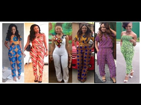 Ankara Jumpsuits: Beautiful Ankara Jumpsuit Designs