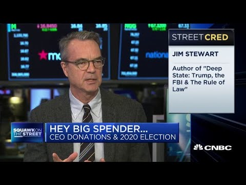 Bernie Sanders' rise could push CEOs to donate to Republicans: NYT's Jim Stewart