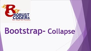 Bootstrap3 tutorial in hindi part-16 | Bootstrap Collapse|How to Create Collapse Example