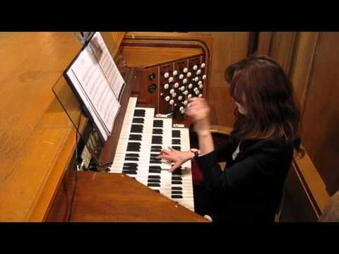 """Hymn to Joy"" Beethoven 9th Symphony-arr. Andrew Gant.  Orgen:Jean Yoon"