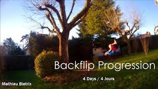 Backflip Progression [4 Days]