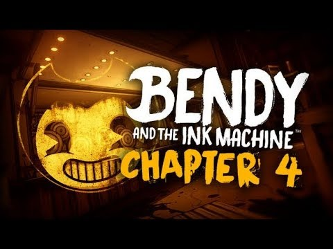 I GLITCHED THE GAME!!?? Bendy and the Ink Machine: Chapter 4 (Part 1)
