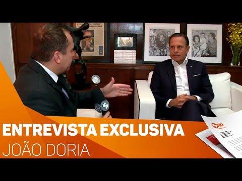 Entrevista exclusiva com João Doria - TV SOROCABA/SBT