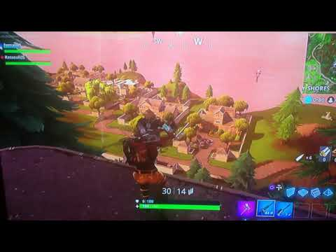 144 meter snipe from the mansion (slight)
