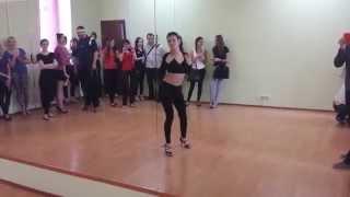 Видео урок соло латина - Начинающие 5.04.2014