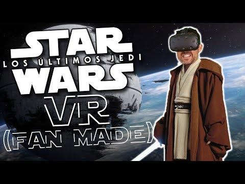 LOS ÚLTIMOS JEDI EN REALIDAD VIRTUAL |  Star Wars Vídeo 360 (hecho por fanes)