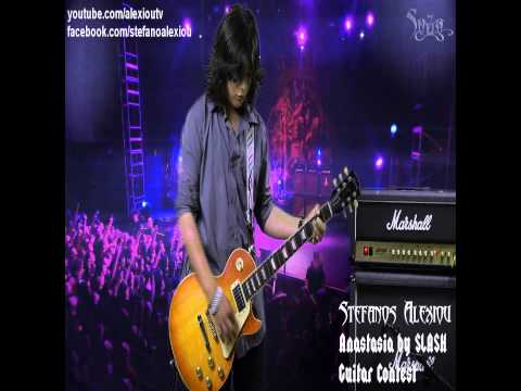 Slash - Anastasia (Guitar Cover by Stefanos Alexiou)