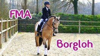 Lia & Alfi - FMA Borgloh und Einflechten mit Haarklammern