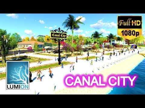 LUMION 6  - CANAL CITY - ADAPTIVE REUSE AND DESIGN FOR TOURISM INFORMATION CENTER