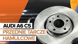 Jak zmienić Komplet klocków hamulcowych AUDI A6 Avant (4B5, C5) - przewodnik