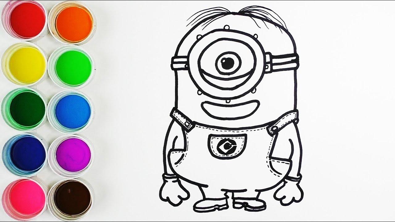 Dibujos Para Colorear De Los Minions Para Imprimir: Imagenes Minions Para Colorear