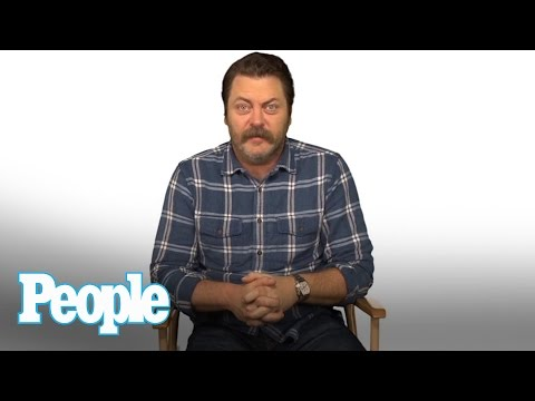 The Moment Nick Offerman Realized Megan Mullally Was The One   People