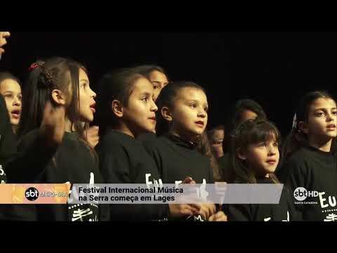 Festival Internacional Música na Serra começa em Lages