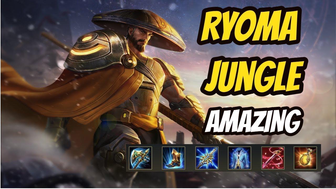 Ryoma Jungle Win In  Minutes Team Royal Darkbreaker Arena Of Valor Aov