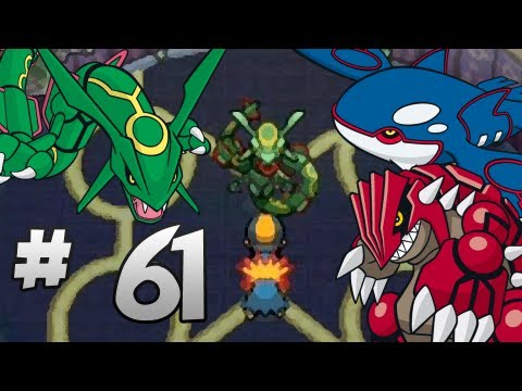 Let's Play Pokemon: HeartGold - Part 61 - Kyogre, Groudon, & Rayquaza