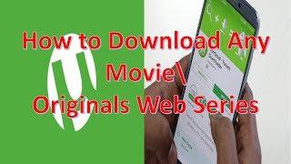 Koi Bhi Movie/TV Series Kare Torrent Se Download | How To Download Video/TV Series from Torrent