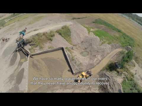 Gravel Mining Destroys Our Rivers
