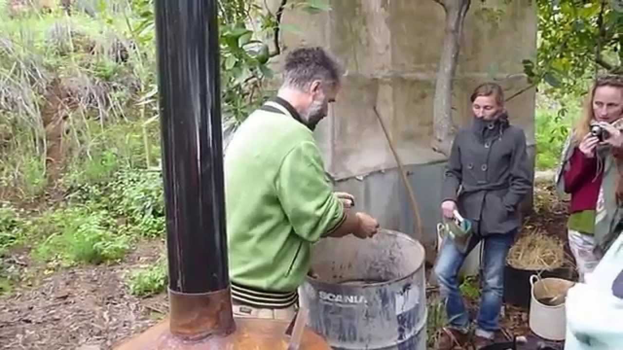 finca autarca aktivkohle herstellen - youtube