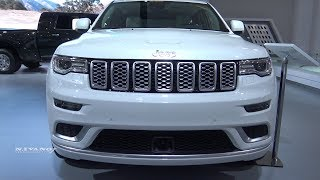 2018 Jeep Grand Cherokee Summit - Exterior And Interior Walkaround - 2018 Montreal Auto Show
