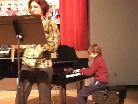 Bolling, Suite for Flute and Jazz Piano performed at Nova Classical Academy