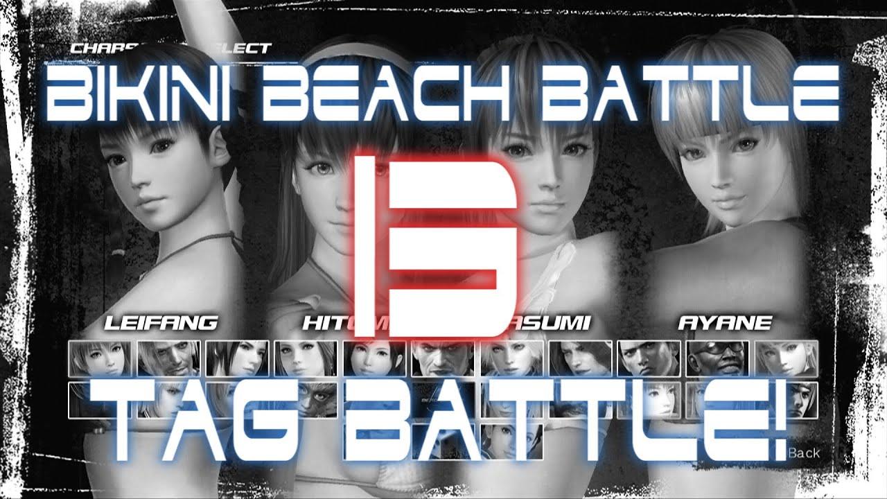 clip Doa bikini fight scene