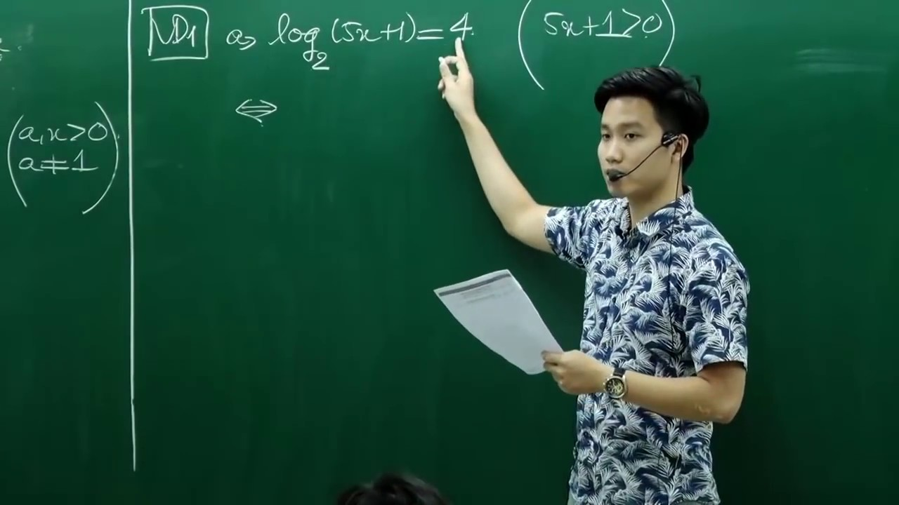 Phương Trình Loga (Phần 1)  _Thầy Nguyễn Quốc Chí