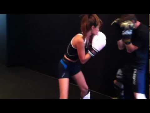 Lisalla Montenegro Training at Mushin MMA