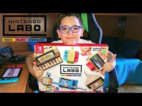 NINTENDO LABO UNBOXING - Leo Toys