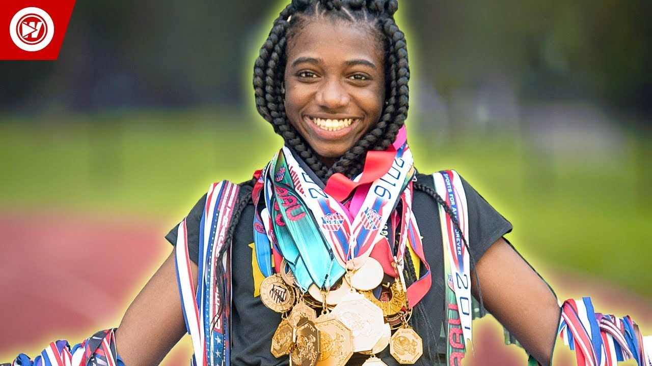 14-Year-Old FASTEST Girl On The Planet | Tamari Davis