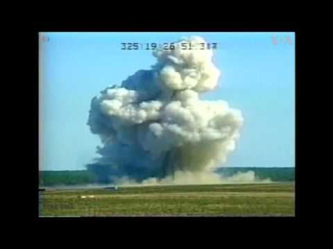 "Test video shows massive force of the ""Mother of All Bombs"""