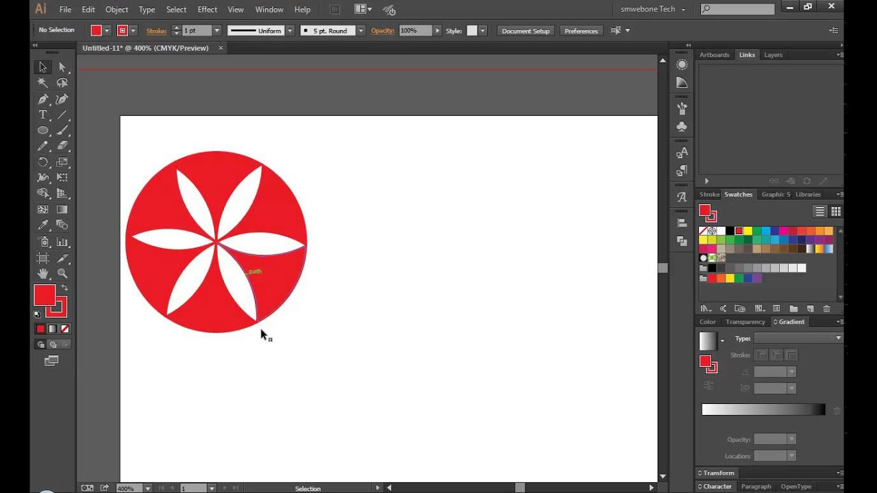 Create a logo and business card in Adobe Illustrator CC - YouTube