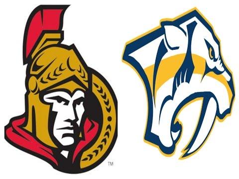 Predators vs. Senators