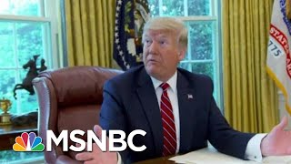 See Backstage Footage Of Donald Trump Directing WH Reality Show | The Beat With Ari Melber | MSNBC