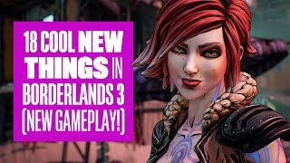 18 new things in Borderlands 3 gameplay