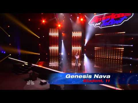 Genesis Nava - America's Got Talent 2013 Season 8 - Vegas Week