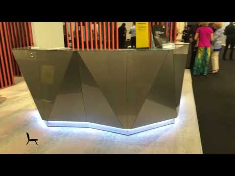Alpa Reception Desk By MDD Office Furniture