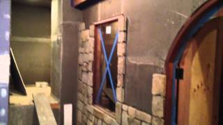 Custom Wine Cellar In Essex Fells Nj Stone Wall And Racking