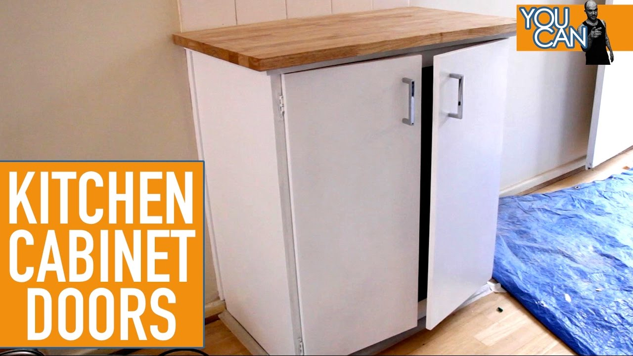 how to upgrade kitchen cabinet doors youtube