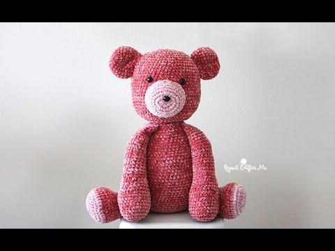 Bernat Crochet Velvet Bunny Pattern | Yarnspirations | 360x480