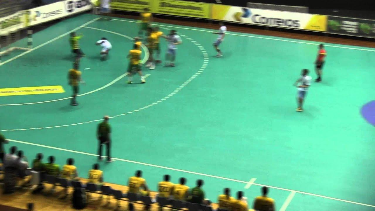 Argentina Vs Brasil: Handball ARGENTINA Vs BRASIL PT2