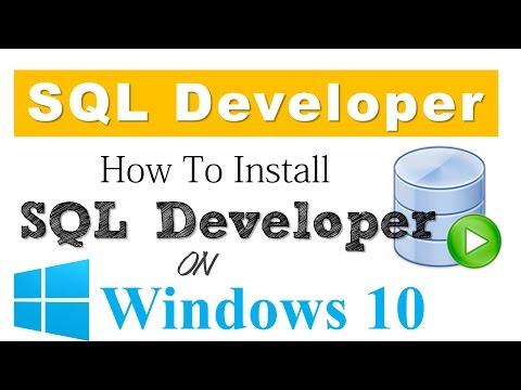 oracle sql developer download windows 64 bit