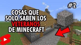 Cosas que SOLO saben los VETERANOS de Minecraft - PARTE 2