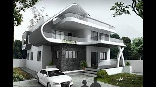 Exterior Dream House Design Ideas