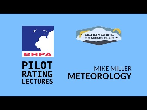 BHPA Pilot rating - Meteorology Part 1