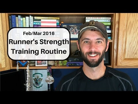 Strength Training Routine for Runners: Feb/Mar 2016 - YouTube