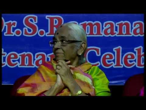Dr.S. Ramanathan's Centenary Celebrations | S. Sowmya & P. U