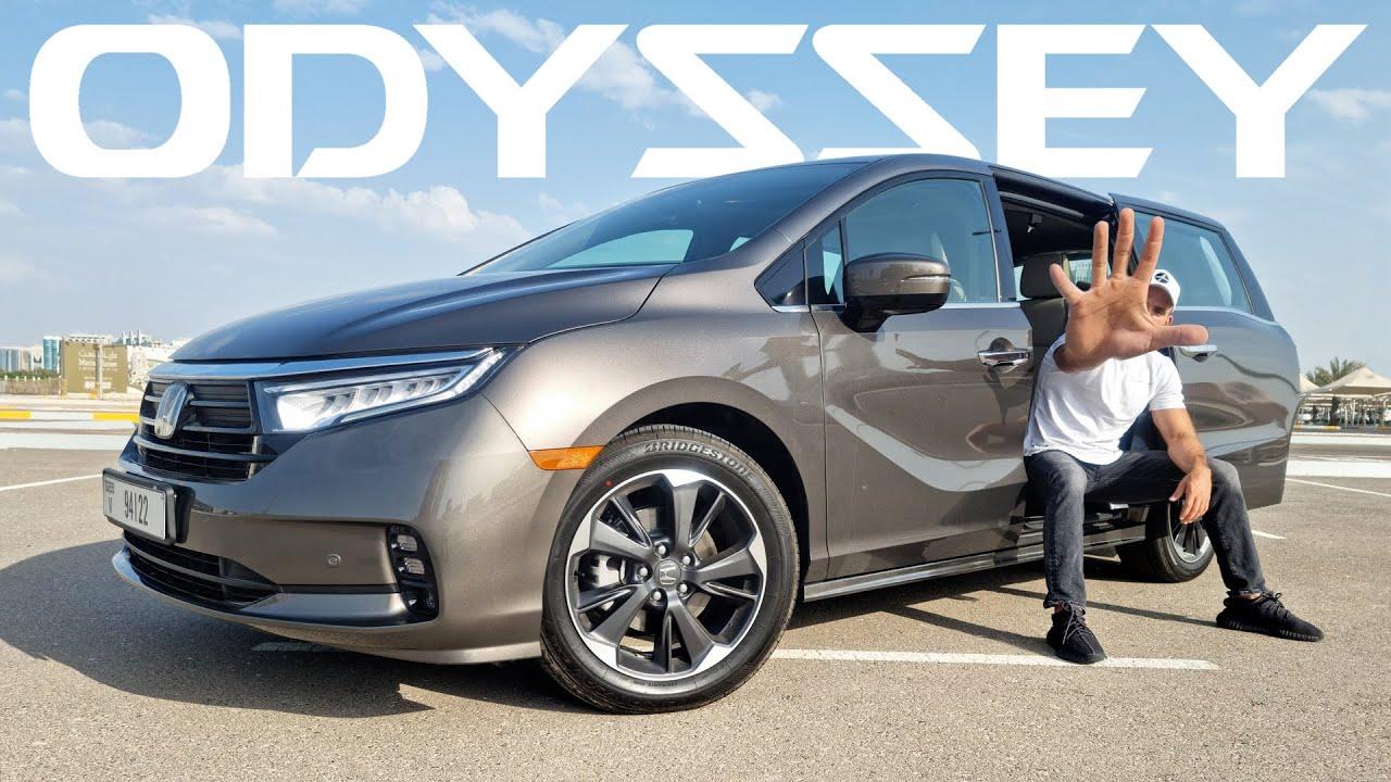 صورة فيديو : خمس ميزات تجعل هوندا اوديسي سيارة عائلية ممتازة – Honda Odyssey 2021